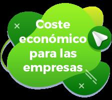 Coste económico para las empresas