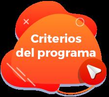 Criterios del programa